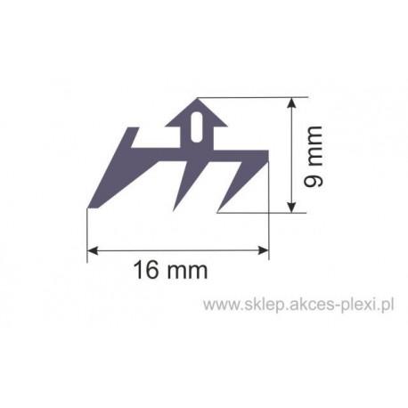 Uszczelka S-185 - do profili górnych - 1mb