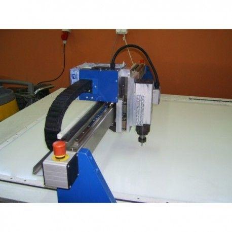 Cięcie płyt laserem i frezarką