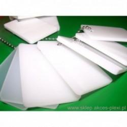 Płyta z PLEXI   wylewana  mleczna 6mm - 203x305cm