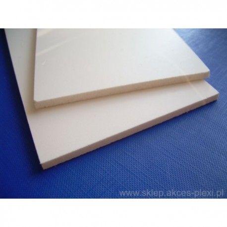 Płyta PCV spienione białe 8 mm- 122x305cm