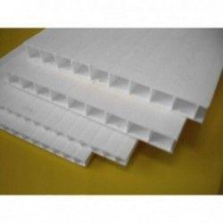 Płyta z polipropylenu komorowego biała 10 mm - 200x600 cm