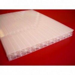 Płyta z poliwęglanu komorowego mleczna 10 mm- 210x600cm