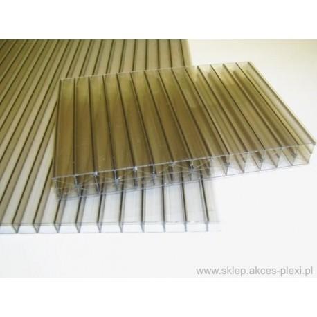 Płyta z poliwęglanu komorowego dymiona 10 mm- 210x600cm