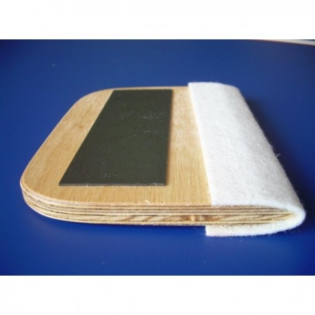 Rakla drewniana 14 cm