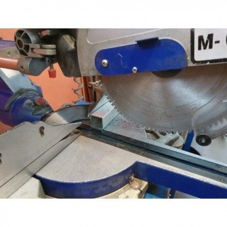 Cięcie profili aluminiowych pod kątem 90 stopni