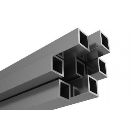 Profil aluminiowy rura kwadratowa - 25/2mm - 6 mb