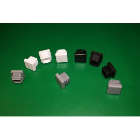 Zaślepka do rur kwadratowych - kwadratowa - 20/20 mm