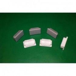 Zaślepka do rury prostokątnej - 50/30 mm