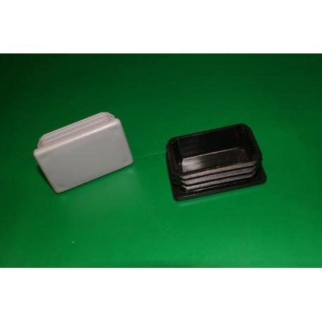 Zaślepka do rury prostokątnej - 60/40 mm