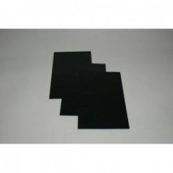 Płyta HIPS czarna 1,5 mm- 100x200 cm mat/połysk