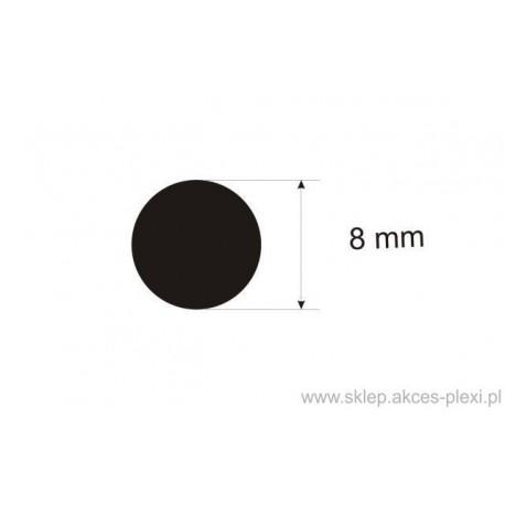 Pręt okrągły aluminiowy fi 8 mm - 4 mb