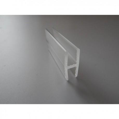 Profil z plexi H-401 11x3,2x1,7 mm - 200 cm