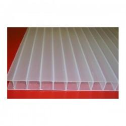 Płyta z poliwęglanu  komorowego mleczna 6 mm- 210x600cm