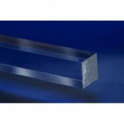 Pręt z PLEXI ekstrudowany bezbarwny kwadrat 10x10mm-2mb