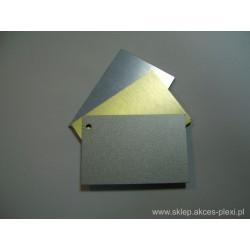 Płyta dibond srebrna szczotkowany 150x305 cm - 3 mm