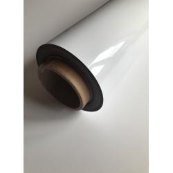 Folia magnetyczna biała z podkładem pvc 0,7mm - rolka 61 cm nawój 10 mb