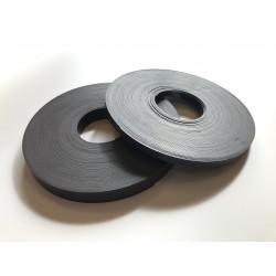Taśma magnetyczna brązowa 25,4x1,5 mm - 1 mb