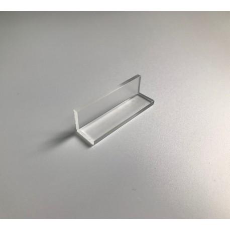 Profil z plexi L-102 - 15x15x3 mm - 300 cm