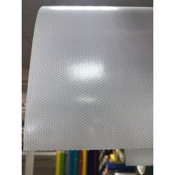 Folia one way vision - perforowana biała szer. 137 cm